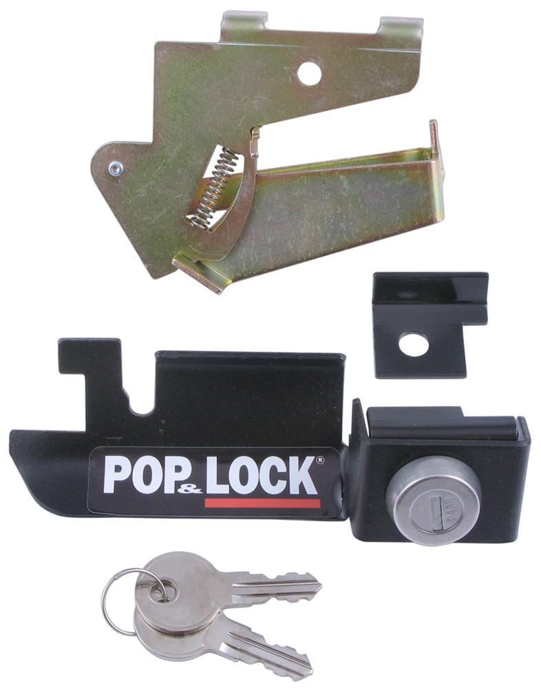 ford   pop lock custom tailgate lock  steel
