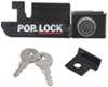 Pop & Lock Custom Tailgate Lock for Plastic Tailgate Handle - Manual - Black