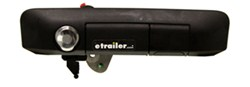 Pop & Lock Custom Tailgate Handle with Lock and Key Alike Lock Cylinder - Manual - Black
