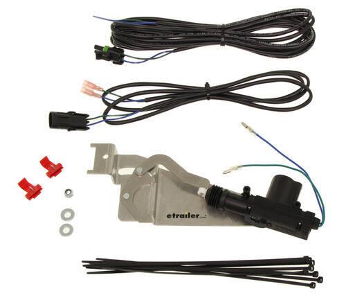 pop lock custom tailgate lock power black pop and lock vehicle rh etrailer com