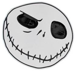 "Nightmare Before Christmas Trailer Hitch Receiver Cover - 1-1/4"" and 2"" Hitches - Aluminum"