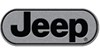 "Jeep Logo Trailer Hitch Cover - 1-1/4"" and 2"" Hitches - Aluminum"