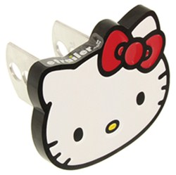"Hello Kitty Trailer Hitch Cover - 1-1/4"" and 2"" Hitches - Aluminum"