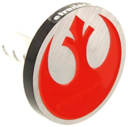"Star Wars Rebel Alliance Symbol Trailer Hitch Cover - 1-1/4"" and 2"" Hitches - Aluminum"