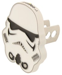 "Star Wars Stormtrooper Trailer Hitch Cover - 1-1/4"" and 2"" Hitches - Aluminum"