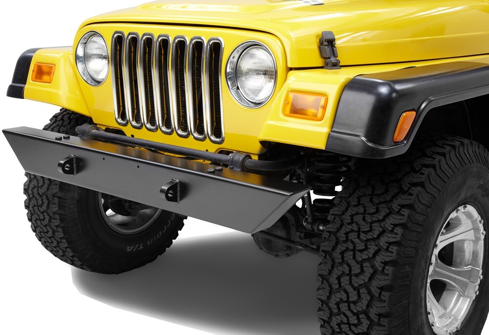 Jeep Tj Front Bumper : Jeep wrangler pavement ends front bumper for