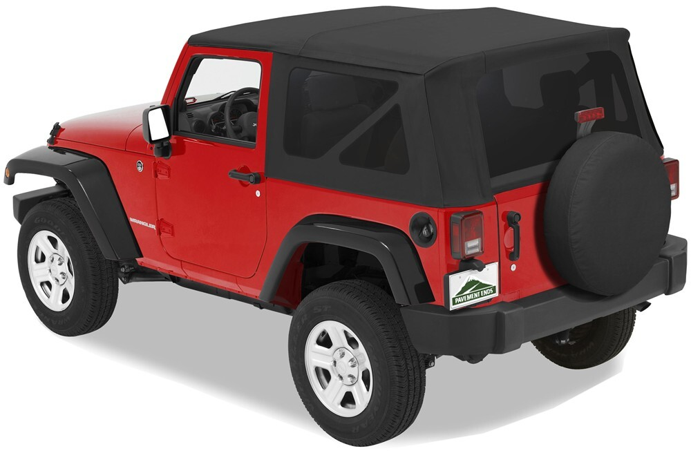 2008 jeep wrangler pavement ends replay soft top fabric for jeep tinted windows doors not. Black Bedroom Furniture Sets. Home Design Ideas