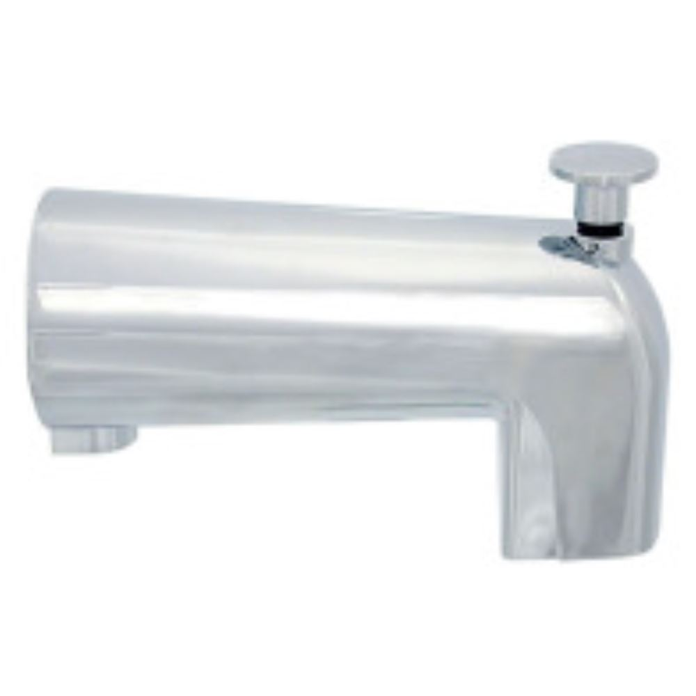 Replacement Diverter Tub Spout 3 3 8 Long Chrome Finish Phoenix Fau