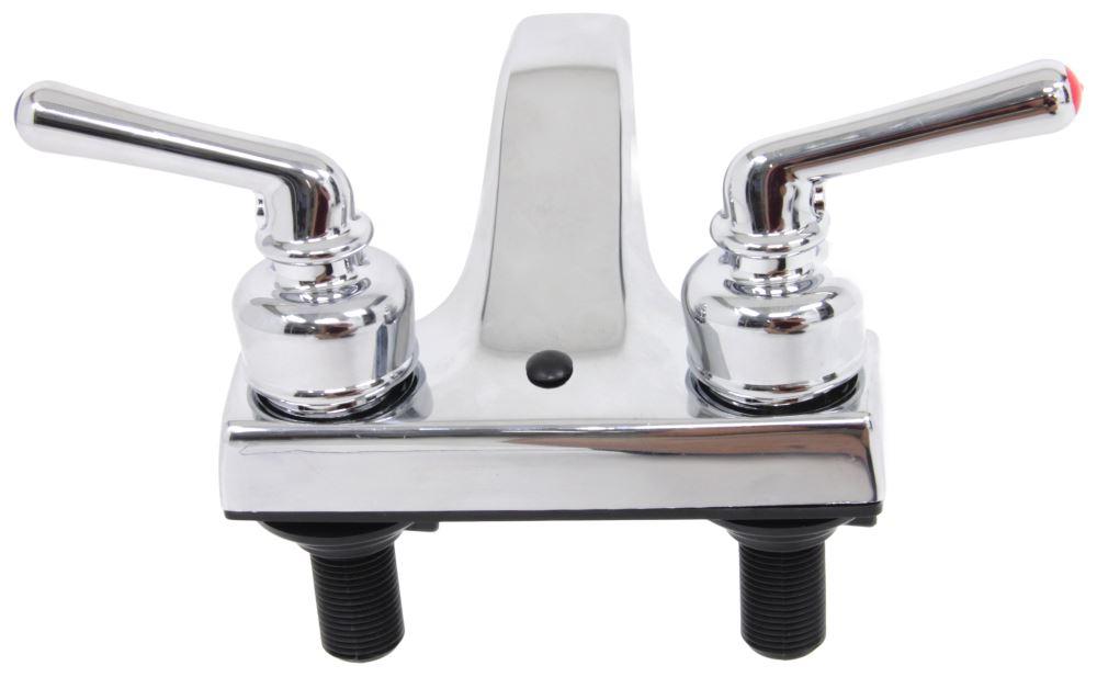 faucets 4 quot dual handle rv bathroom faucet chrome