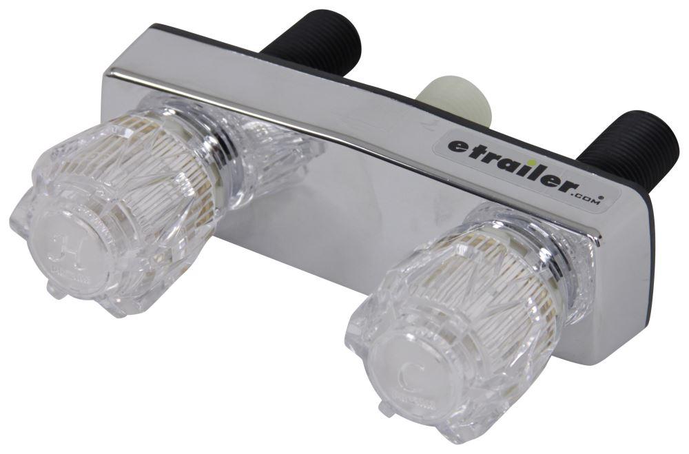 Phoenix Faucets 4 Dual Handle Rv Shower Valve W Vacuum Breaker And Shower Head Kit Chrome