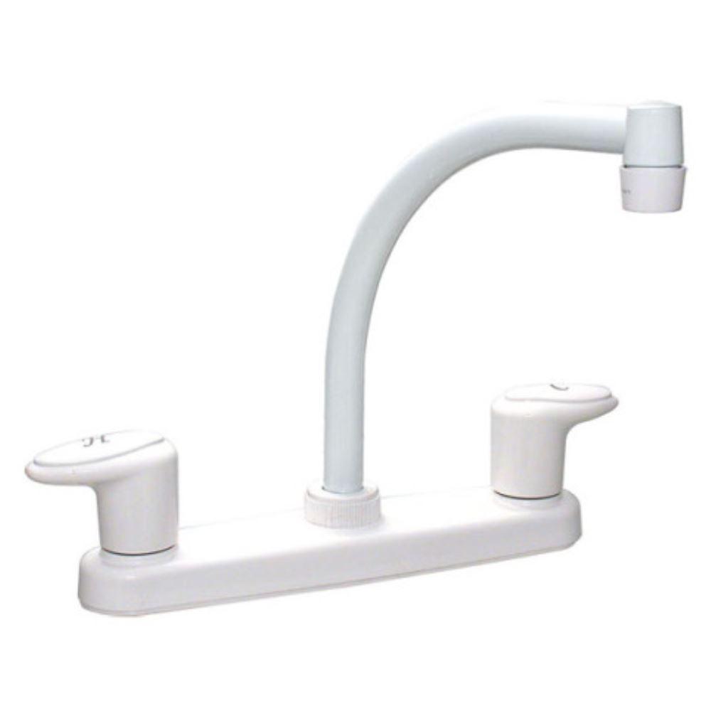 ... Kitchen Faucet - Hi-Arc Spout - White Phoenix Faucets RV Faucets