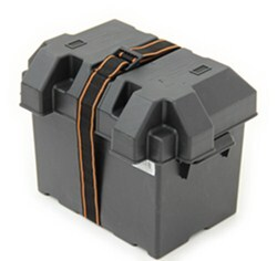 Powerhouse Strap-Style Battery Box for Group 24 Batteries - Vented