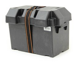 Powerhouse Strap-Style Battery Box for Group 27 Batteries - Vented
