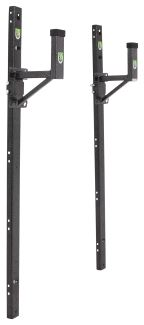 Pack Em Ladder Rack For Exterior Side Wall Of Enclosed