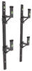 Pack'Em Ladder Rack for Exterior Side Wall of Enclosed Trailer - 2 Ladder