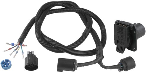 PK11893 11932_500 pollak 5th wheel gooseneck t connector with 7 pole ford, gm gooseneck wiring harness ford 2003 f250 at edmiracle.co