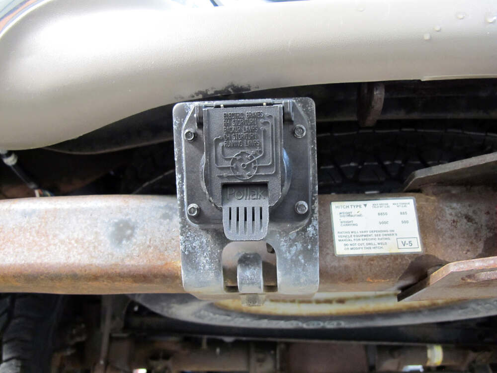 2003 ford expedition trailer wiring diagram 2000 ford expedition trailer wiring pollak replacement 7-pole, rv-style trailer connector socket - vehicle end pollak wiring pk11893 #12