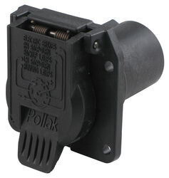 Pollak Replacement 7-Pole, RV-Style Trailer Connector Socket - Vehicle End