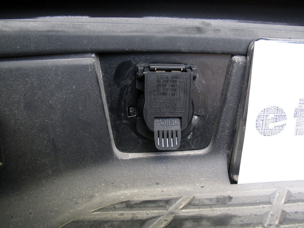 twist-in, 7-pole, rv-style trailer connector for chevy and ... 2011 chevy silverado trailer wiring