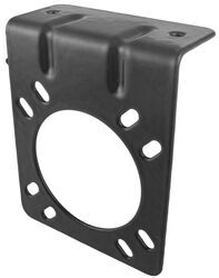 Mounting Bracket for Pollak 7-Pole, RV-Style Trailer Connector - Vehicle End