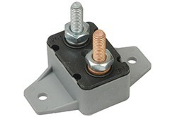 Circuit Breaker - 40 Amp - Perpendicular Mount Bracket - Cycling Auto Reset - Plastic - Type I
