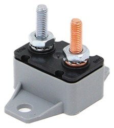 Circuit Breaker - 50 Amp - Perpendicular Mount Bracket - Cycling Auto Reset - Plastic - Type I