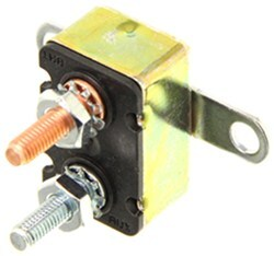 Circuit Breaker - 50 Amp - Perpendicular Mount Bracket - Cycling Auto Reset - Metal - Type I