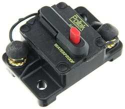 Pollak Circuit Breaker - 60 Amp - Surface Mount - Manual Reset - Plastic - Type III