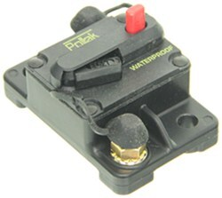 Pollak Circuit Breaker - 150 Amp - Surface Mount - Manual Reset - Plastic - Type III