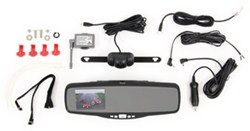 Peak Performance Wireless Backup Camera and Clamp On Rearview Mirror