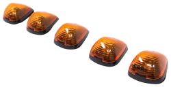 Pacer Performance Hi-Five Truck Cab Lights - Ford - 5 Piece - Amber Bulbs - Amber Lens