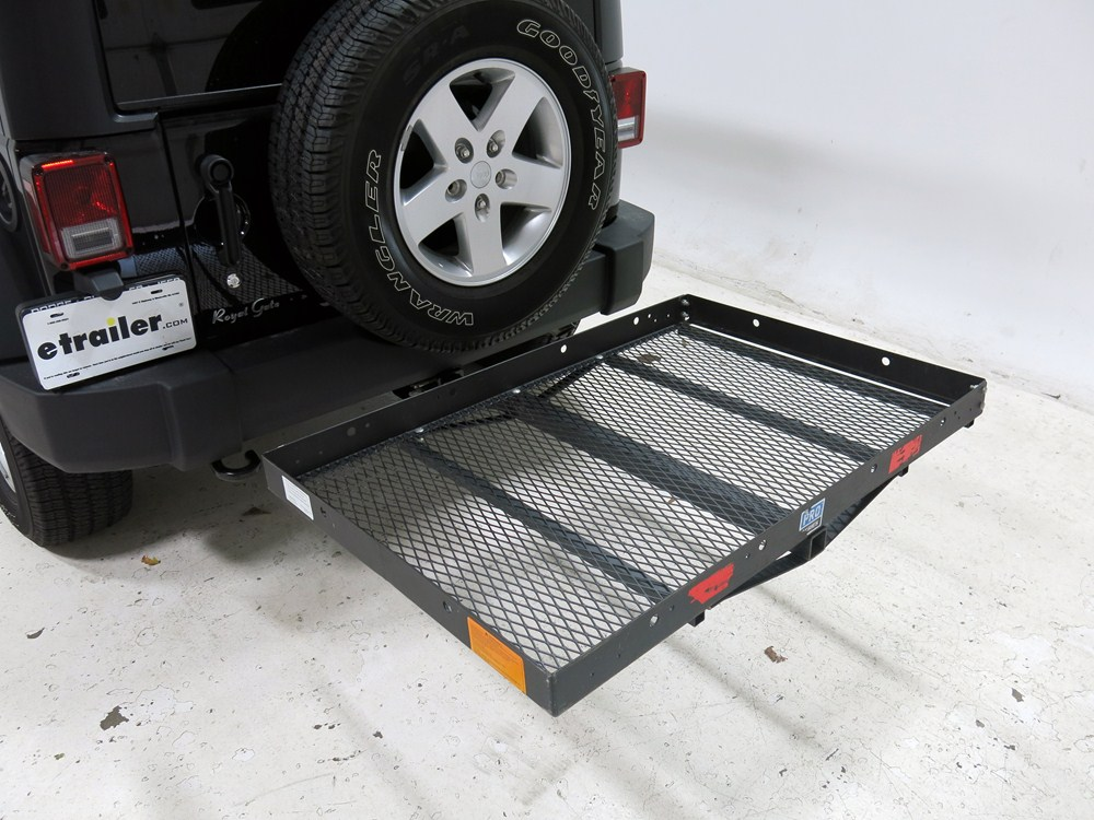 31x47 Pro Series Solo Cargo Carrier For 2 Quot Hitches Steel