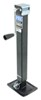 "Pro Series Square Jack with Footplate - Drop Leg - Sidewind - 15"" Lift - 5,000 lbs"
