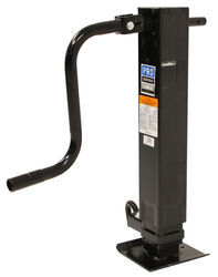 "Pro Series Square Jack - Drop Leg w/ Spring Return - Sidewind - 12-1/2"" Lift - 10,000 lbs"