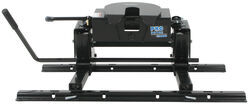 Pro Series 5th Wheel Hitch w/ Square Tube Slider, Rails and Install Kit - Slide Bar Jaw - 15,000 lbs