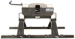 Pro Series 5th Wheel Trailer Hitch w/ Rails and Installation Kit - Dual Jaw - 20,000 lbs