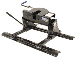 Pro Series 5th Wheel Trailer Hitch w/ Slider, Rails and Installation Kit - Dual Jaw - 16,000 lbs