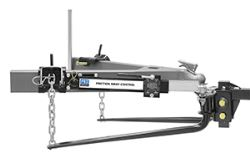 Pro Series Weight Distribution System w Friction Sway Control - Round - 10,000 lbs GTW, 1,200 lbs TW