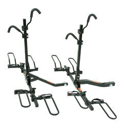"Pro Series Q-Slot Platform-Style 2 Bike and 4 Bike Rack for 2"" Hitches"