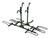 pro series hitch bike racks platform rack fits 2 inch q-slot platform-style and 4 for hitches