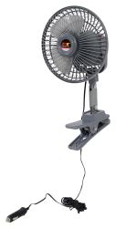 "6"" Oscillating Fan 12-Volt - Clamp-On"