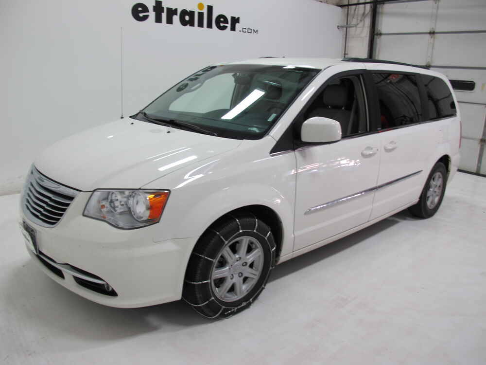 2013 chrysler town and country glacier cable snow tire chains 1 pair. Black Bedroom Furniture Sets. Home Design Ideas