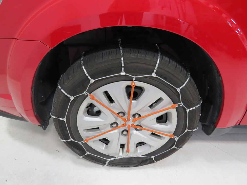 2014 dodge journey glacier cable snow tire chains 1 pair. Black Bedroom Furniture Sets. Home Design Ideas