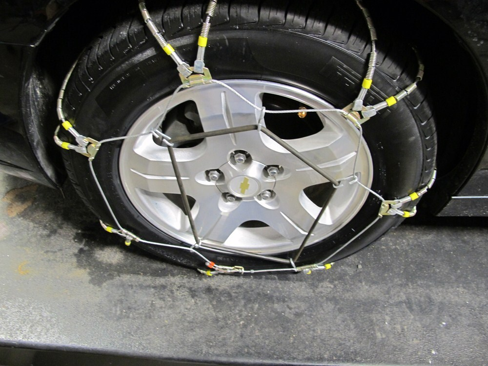 2011 Subaru Outback Wagon Tire Chains Glacier