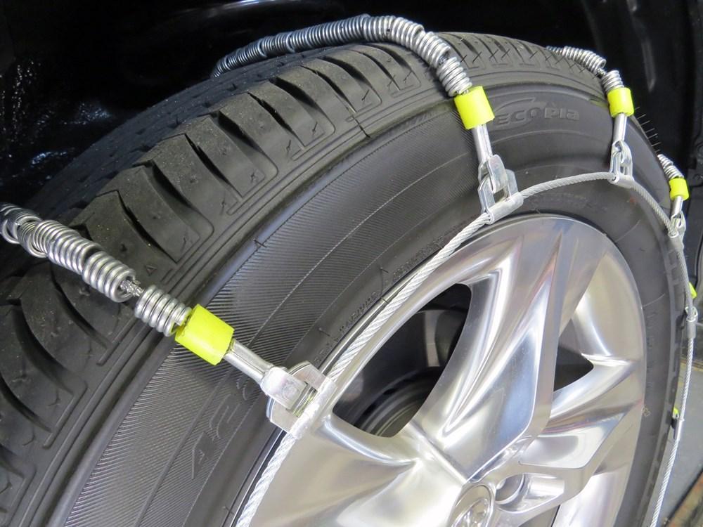 Glacier Cable Snow Tire Chains 1 Pair Glacier Tire