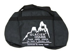 Replacement Duffel Bag for Glacier Snow Tire Chains - Black