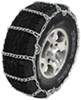 Glacier Twist Link Snow Tire Chains with Cam Tighteners - 1 Pair