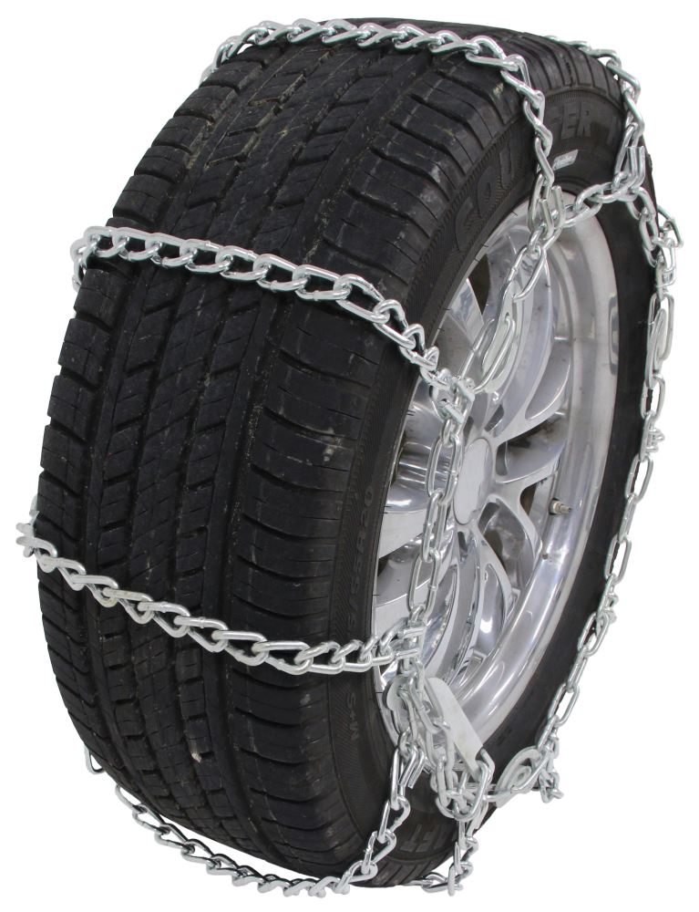 glacier twist link snow tire chains with cam tighteners for wide base tires 1 pair glacier. Black Bedroom Furniture Sets. Home Design Ideas