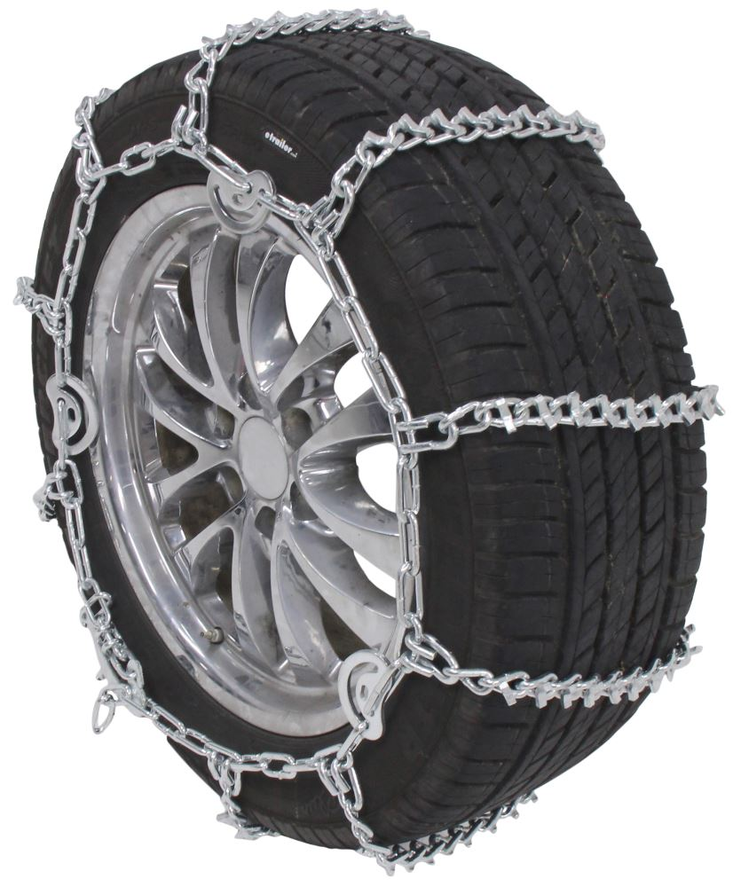 Glacier V-Bar Snow Tire Chains with Cam Tighteners