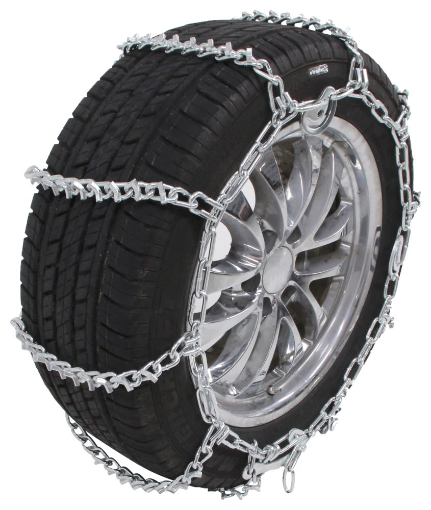 1996 Ford F-150 Glacier V-Bar Snow Tire Chains With Cam
